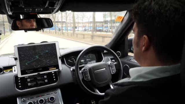 Woman killed by selfdriving car following crash ENGLAND Buckinghamshire Milton Keynes Steering wheel turning by itself PULL OUT man sitting in...