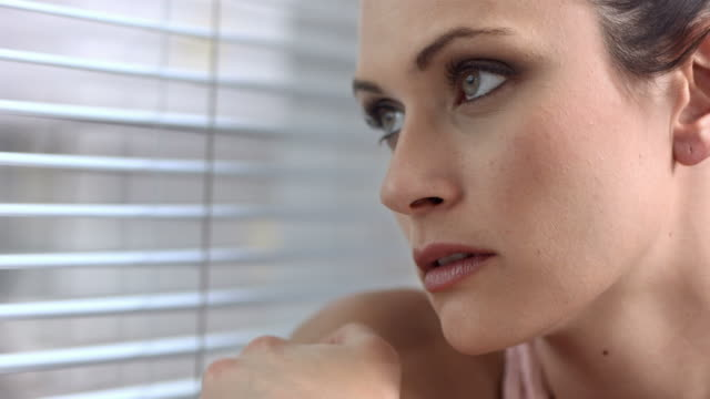 HD: Woman Looking Through Jealousy
