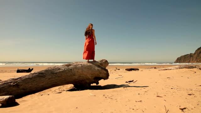 Femme pour la plage