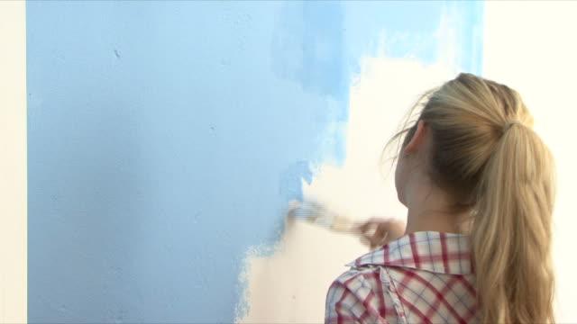 Frau Malerei