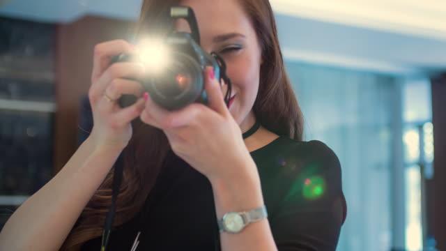 Frau Fotografen fotografieren