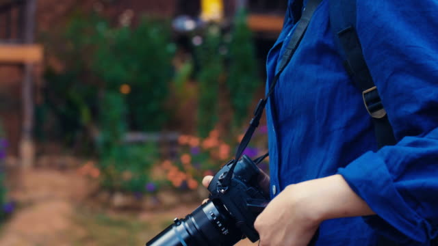 woman photographer - realisticfilm stock videos and b-roll footage
