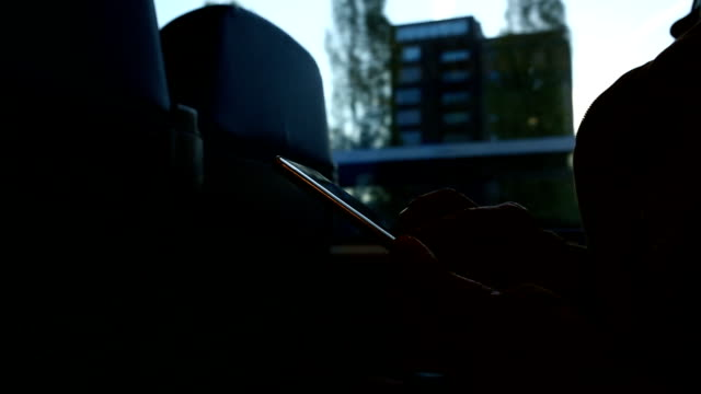 Woman playing smart phone