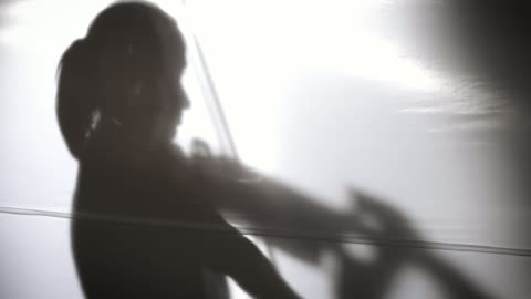 woman playing violin, slomo - violin stock videos & royalty-free footage