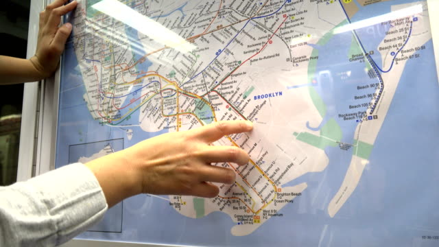 How To Read A New York City Subway Map.80 Top Subway Map Video Clips Footage Getty Images