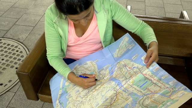 Reading The New York City Subway Map.58 Nyc Subway Map Video Clips Footage Getty Images