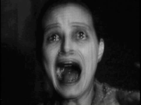 woman screaming - horror stock videos & royalty-free footage