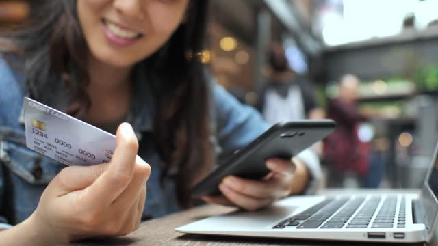 Woman Shopping on Smart phone