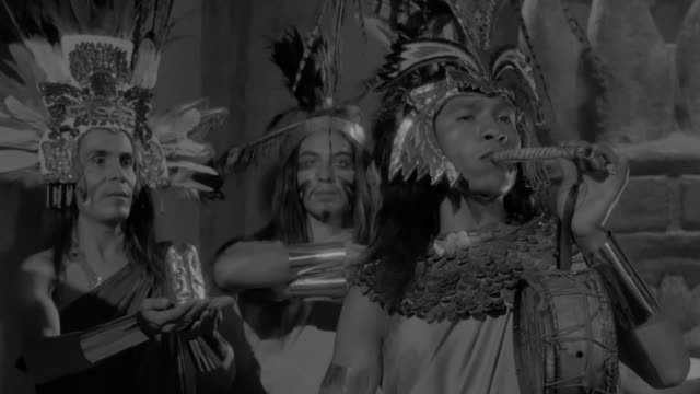woman singing during an aztec ritual ceremony - aztec stock videos & royalty-free footage