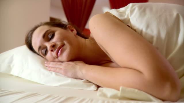 HD DOLLY: Woman Sleeping