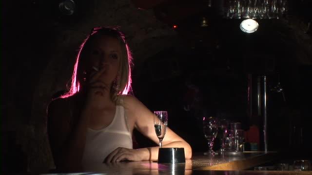 HD: Woman Smoking