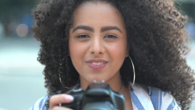 woman taking a photography - photographer stock videos & royalty-free footage