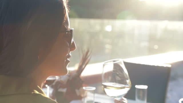 woman tasting wine - white wine stock videos & royalty-free footage