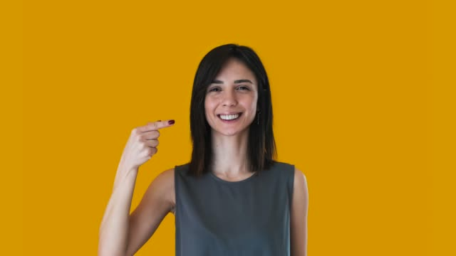 woman using sign language : a/z - the alphabet stock videos & royalty-free footage