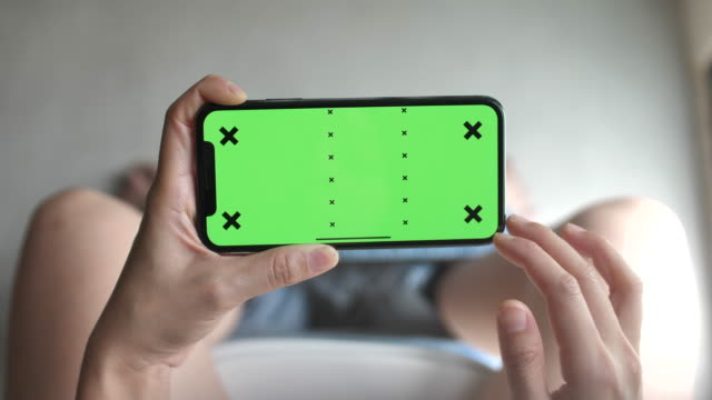 woman using smart phone green screen - finger stock videos & royalty-free footage
