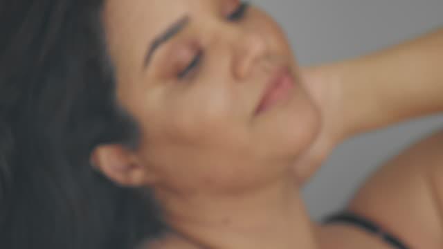 Woman wearing bodysuit