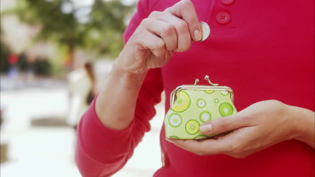 woman with a purse, sweden. - only mid adult women stock videos & royalty-free footage