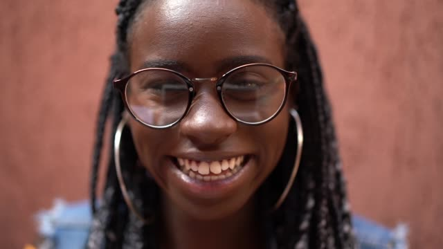 woman with eyewear portrait - caribbean stock videos and b-roll footage