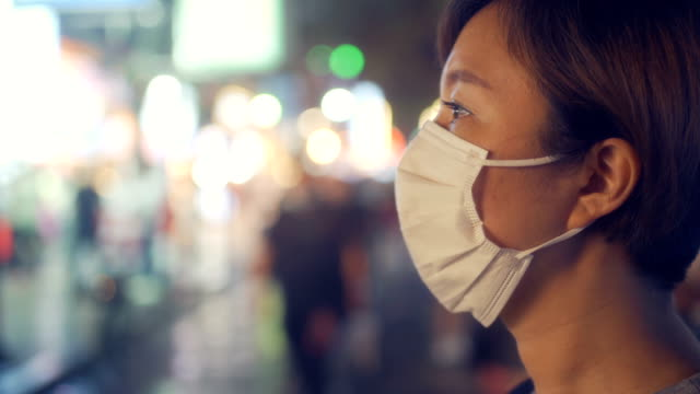 woman with face protective mask - ward stock videos & royalty-free footage