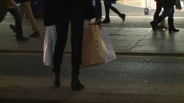 woman with groceries - shopping bag stock videos & royalty-free footage