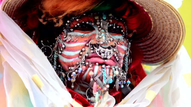 Woman with most piercings in the world