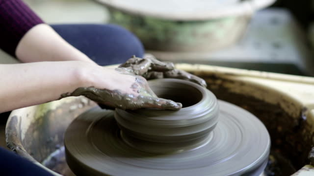 Woman Working Potters