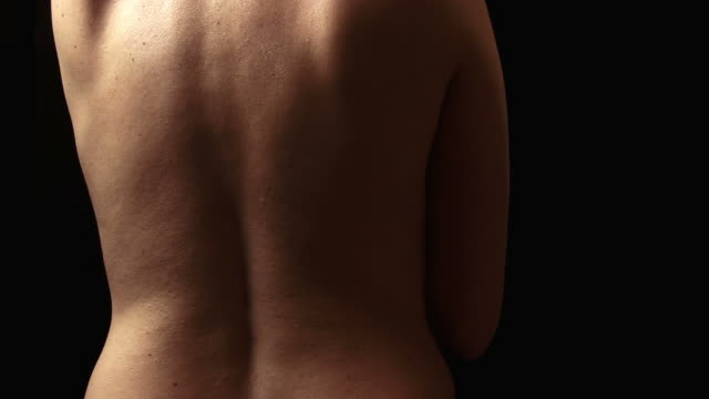 woman's back - naked stock videos & royalty-free footage
