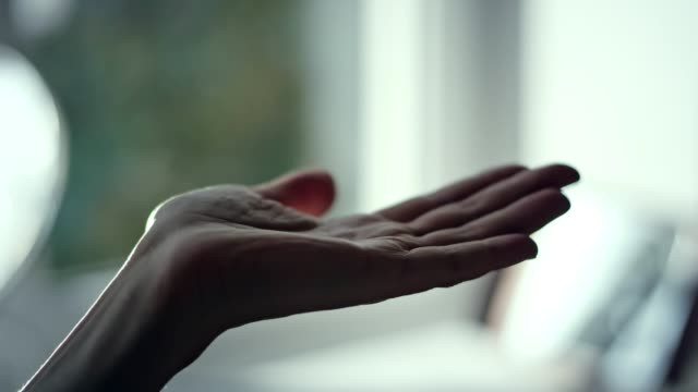 woman's hand reaching out. - human hand stock videos & royalty-free footage