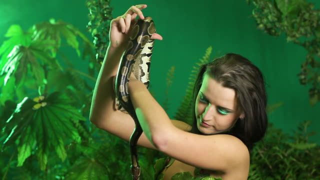 Women and Snake