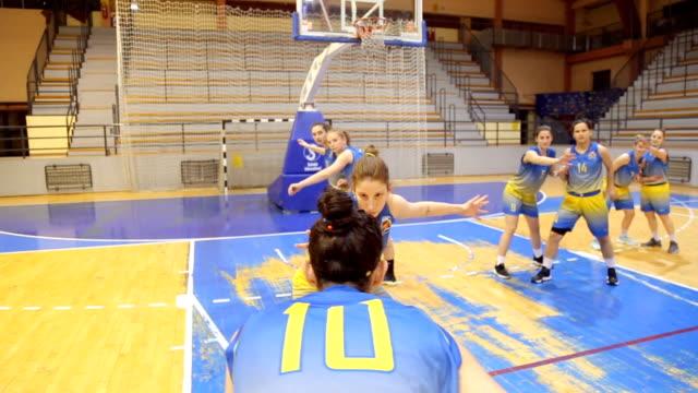 women basketball jump shot - jump shot stock videos and b-roll footage