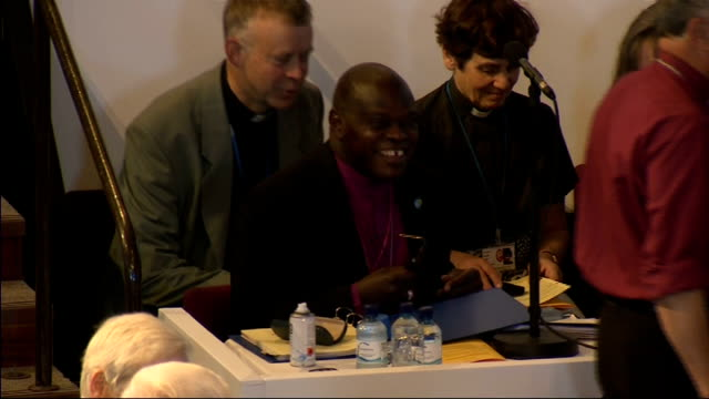 church of england general synod conference gvs; england: yorkshire: york int gvs church of england general synod conference with delegates, including... - synod stock videos & royalty-free footage