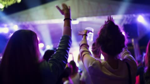 women dancing in the party - concert stock videos & royalty-free footage