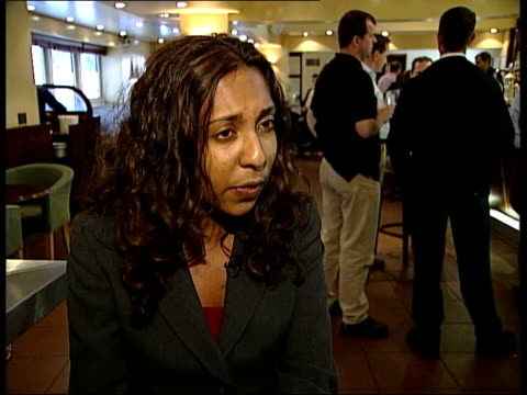 binge drinking worries; itn london: 2 shot geethika jayatilaka interview sot - cancer charities have been talking about link to breast cancer,... - osteoporosis stock videos & royalty-free footage