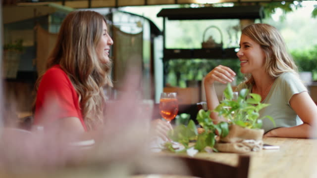 women having italian aperitivo together - happy hour video stock e b–roll