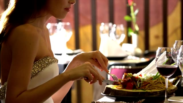 women in a restaurant - elegance stock videos & royalty-free footage
