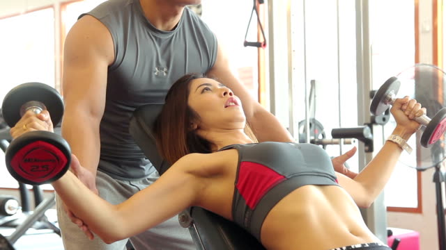women is exercising with trainer - human limb stock videos & royalty-free footage