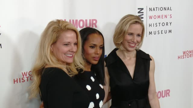 chryon women making history awards honoring kerry washington instagram coo marne levine spacex president coo gwynne shotwell at the beverly hilton... - autorität stock-videos und b-roll-filmmaterial