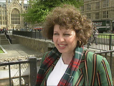 london: westminster: london lesley abdela intvwd sof - this time has seen a big leap in numbers but i think suffragettes would be shocked that there... - itv news at one stock videos & royalty-free footage