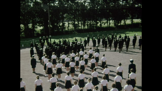 Women of WRNS passing out parade