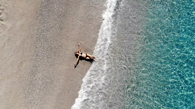women on the beach. - oludeniz stock videos and b-roll footage