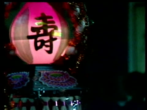 women pray for souls of those whose lives were lost to earthquake chi chi at temple 23 september 1999 - taiwan stock videos & royalty-free footage