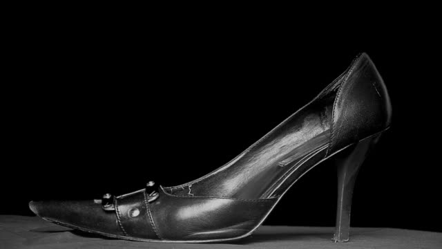 women putting on shoe - dress shoe stock videos & royalty-free footage