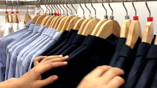 women shopping clothes. - homeware stock videos and b-roll footage