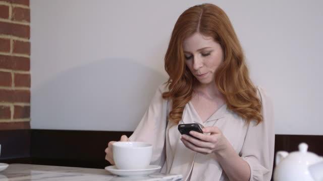 Women sitting in café