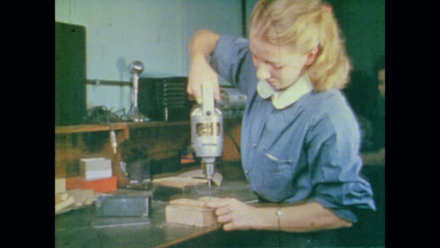 women smile as they repair telephones - communications tower stock videos & royalty-free footage