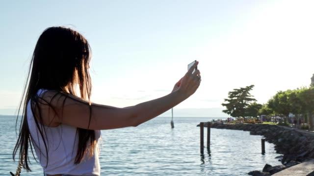 women taking selfie - selfie stock videos & royalty-free footage