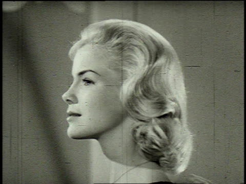 1962 MONTAGE women using different Clairol products / United States