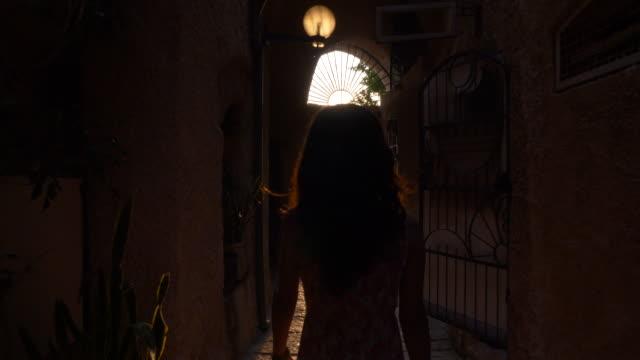women walking in old jaffa street - jaffa stock videos & royalty-free footage