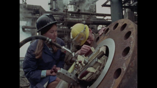 1969 women working in engineering - 1969 stock videos & royalty-free footage