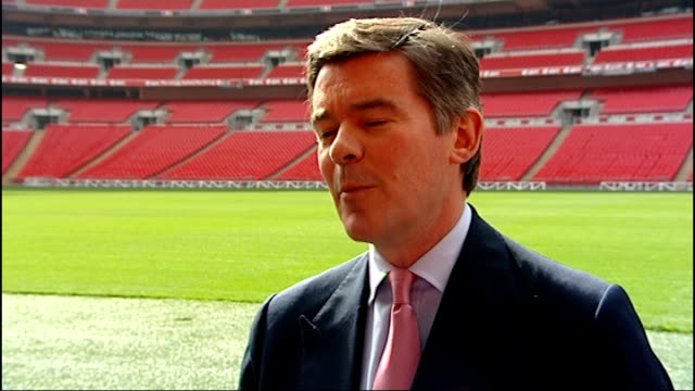 Women's and girls' football increasing in popularity Hugh Roberston MP interview SOT